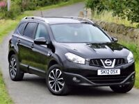 7 SEATER (2012) NISSAN QASHQAI +2 NTEC+ - 12 MONTHS MOT - FSH- 360 DEGREE CAMERA - PANORAMIC ROOF!