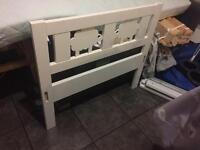 Toddler bed & mattress- IKEA Kritter