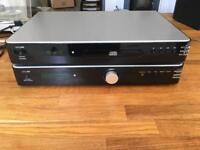 Acoustic solutions amp and CD player