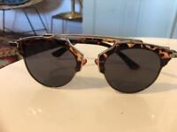 cfc134f6bd02 Christian Dior tortoise shell sunglasses