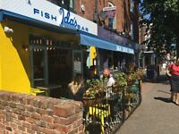 Front of House team members required for busy modern fish bar