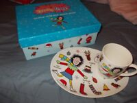 Tracy Beaker Plate and Mug , Cake Plate by Portmeirion Boxed