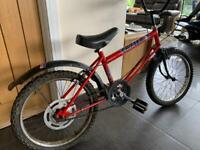 RALEIGH GRIFTER - RED & BLACK - VINTAGE RETRO!