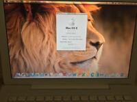 "APPLE MACBOOK A1181 CORE 2 DUO 2.4 13"" (WHITE-08) MB403LL/A (EARLY 2008)"