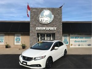 2015 Honda Civic Sedan Si WOW LOW KMS AND VERY CLEAN!