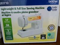 Brother JX1710 sewing machine