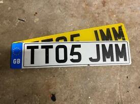 Audi TT private plate