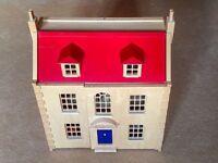 John Lewis Marlborough Dolls House & Accessories.
