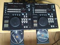 TASCAM CD 302 Professional dual CD player