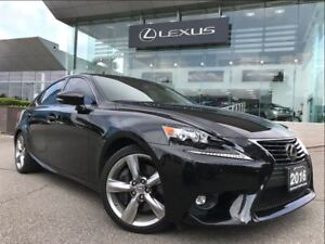 2016 Lexus IS 350 Executive Pkg AWD Navi Backup Cam Leather Sunr