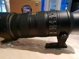 NIKON 70-200 F2.8 VR II