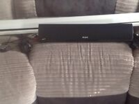 Projector plus screen and sound bar