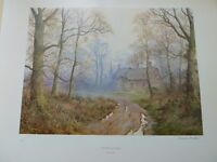 GENUINE CAESAR SMITH LIMITED EDITION SIGNED PRINT ENTITLED 'COUNTRY COTTAGE'. ONE OF 750 WORLDWIDE.
