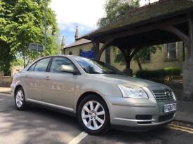 2006 Toyota Avensis 2.0 D4D 12 Months Mot Reliable Motor 2 Keys