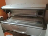 Luxura X3 By Hapro Lie Down Sunbed - 6 months old - hardly used