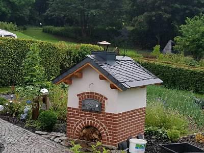Holzbackofen  Steinbackofen  Pizzaofen  Holzbackofenbausatz 60x90 Gartengrill