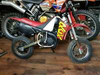 Malaguti rcx grizzly 10 50cc kids motorbike