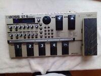 Boss GT6 pedal