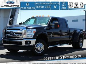2013 Ford F-350 XLT**4X4*6 PLACES*BLUETOOTH*CRUISE*A/C**