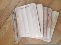 5 Andrew James Chopping Boards