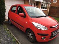 For Sale: Hyundai i10 – great condition, low mileage!