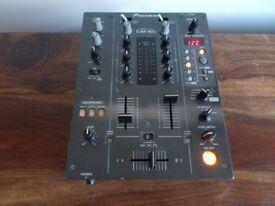 Pioneer djm 400 2 channel mixer