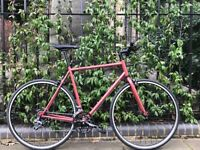Special Offer GOKU ALLOY / STEEL Frame road bike hybrid bike racing bike 2x8