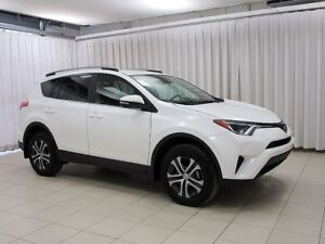 2017 Toyota RAV4 LE AWD SUV W/ ROOF RACK, BACK-UP CAM, LANE DEPA