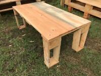 Handmade Rustic Outdoor Garden Table