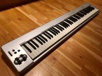 M-AUDIO Keystation 88es, boxed, great condition