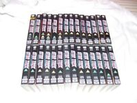 ORIGINAL STAR TREK episodes 1 - 54 including THE CAGE on 28 VHS tapes