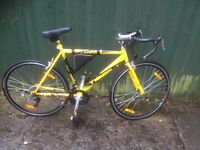 Tiger Omega male road bike. Fully serviced, fully safe and ready to go.