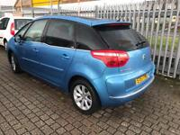 Citroen c4 Picasso exclusive 57 plate - diesel 2litre only 51k on clock -AUTO