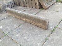 Concrete decorative edging