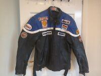 Proto Leather Motorbike Jacket