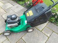 Sovereign push petrol lawnmower / lawn mower