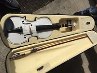 Violin, bow and case for sale.