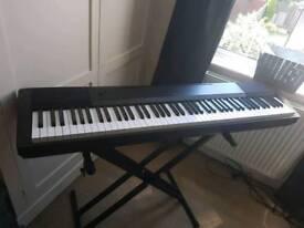 Casio 120 88 key keyboard piano