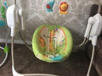 Fisher Price Rainforest Swing/Cradle