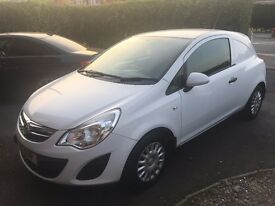Vauxhall Corsa 1.3 CDTI Diesel van. Only 32000 miles from new