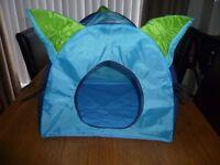 Ikea portable cat tent/bed