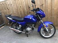 125cc motor bike cg Ybr en cbf rkv 2010 new mot