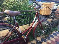 Beautiful Classic Ladies Bike with Basket