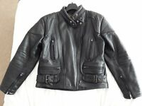 JTS Cowhide Leather Motor Cycle Jacket