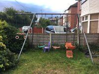 Large swing set