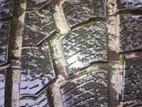Part worn winter tyre