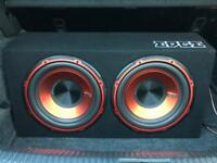 """EDGE Twin 12"""" Subwoofer (1800w)"""