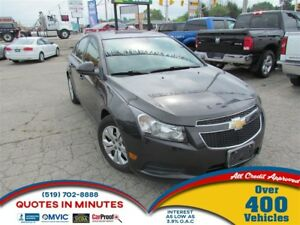2014 Chevrolet Cruze 1LT | TURBO | BLUETOOTH | SAT RADIO