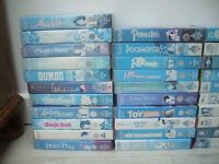 Childrens vhs videos 40 in all including Disney FREE