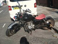125 cc custom bobber